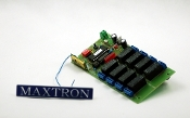 Remote control receiver for matrix controller