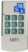 Remote control for matrix controller