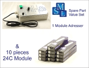 Addresser + Module Set 1 (24C) 1 adresser and 10 modules