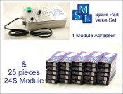 Addresser + Module Set 5 (24S), 1 adresser and 25 modules