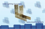 MSL light fixture brackets for tower structures, Maxtron brackets