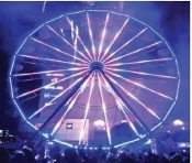 LED Light System NEW, SET for Chance Giant Wheel (V3)