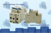 Din Rail mount type circuit breaker for Maxtron Power Packs